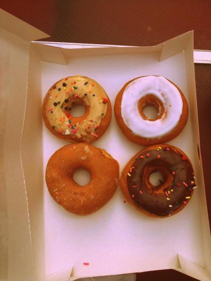 Donuts Donkin Donuts New York picasa