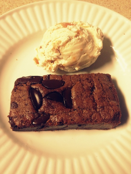 Postre brownie_helado peanut butter+candy picasa