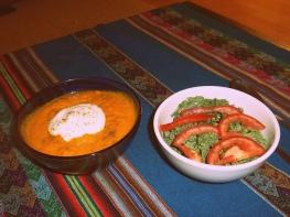 carrot soup sopa zanahoria