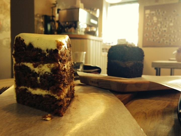 Carrot Cake & Chocolate Cake_TLBC