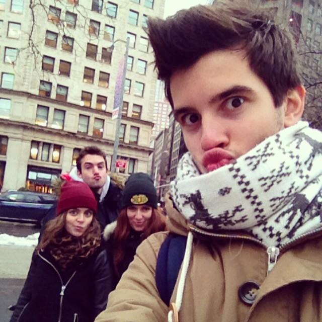Jean, Nico, Floriane y yo_New York