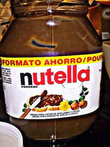 Nutella_Pan marmolado de plátano y Nutella