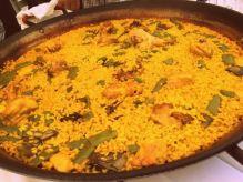 Paella mixta en Casa Patacona (Alboraya, Valencia)