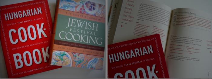 Hungarian Cookbook and Jewish Festival Cookbook