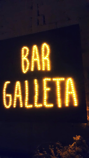 Bar Galleta cartel