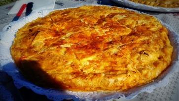 Empanada de pavo con masa de hojadre