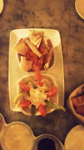 Hummus y ajoblanco