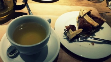 Té verde y apple pie