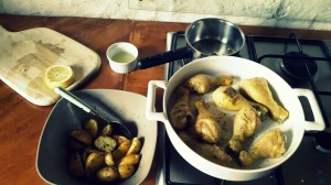 Añadir al pollo el resto de ingredientes