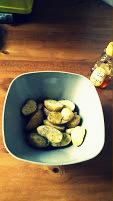 Patatas en un bol