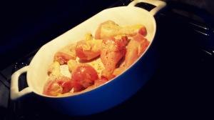 Pollo en el horno 15 minutos