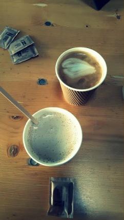 Copenhaguen Street Food - Chai Latte