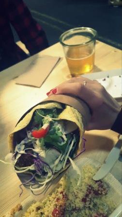 Copenhaguen Street Food - Wrap