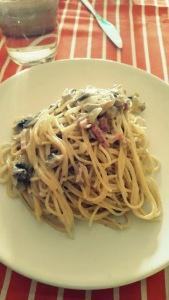 Espaguetis al estilo de mi amigo Luis