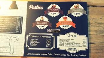 Postres y Bebidas