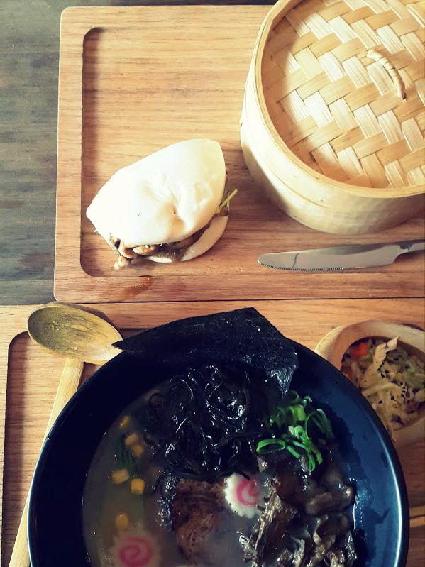 Sopa Ramen y Bao