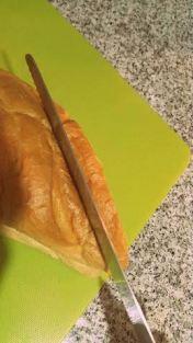 Cortar el pan