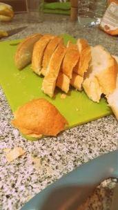 Guardar el currusquito de pan