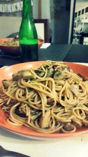 Spaguetti borrachos