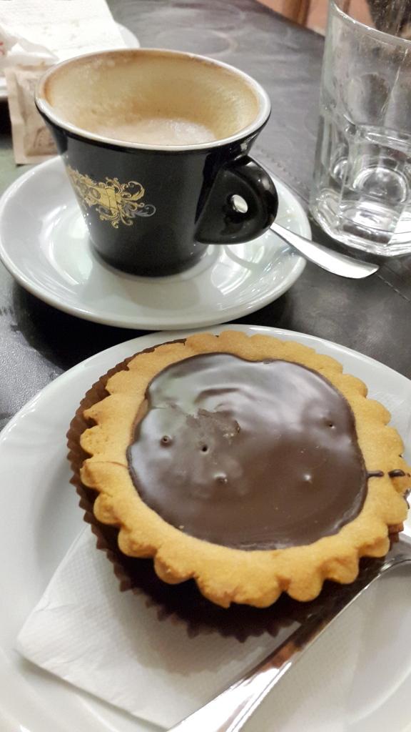 Crostata de chocolate