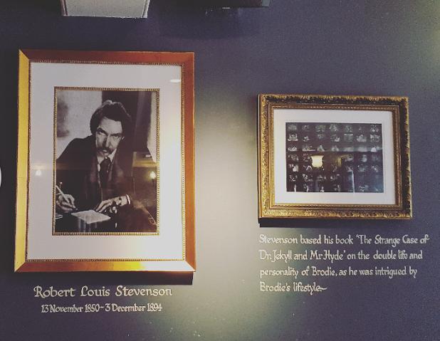 Deacon Brodie Tavern - Robert Louis Stevenson