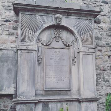 Tumba de Adam Smith - The Canongate Kirkyard