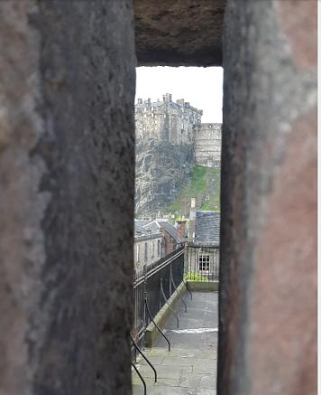 Vistas del castillo desde las murallas