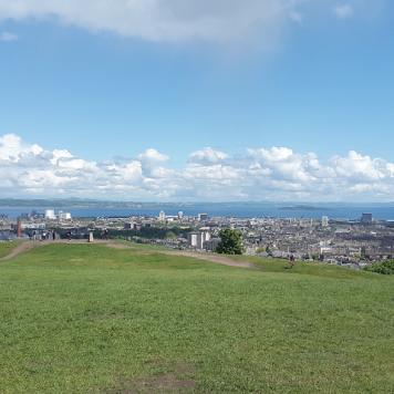 Vistas desde Calton Hill