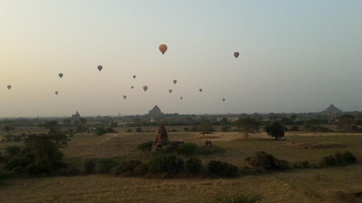 Bagán: la ciudad de los milatardeceres