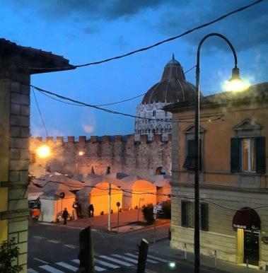 Vistas desde el hotel Roma