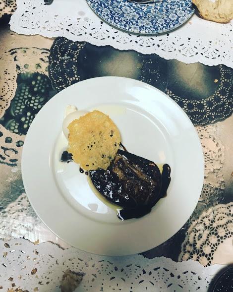 Frío y caliente de foie con parmesano (Fred i calent de foie amb parmesà)
