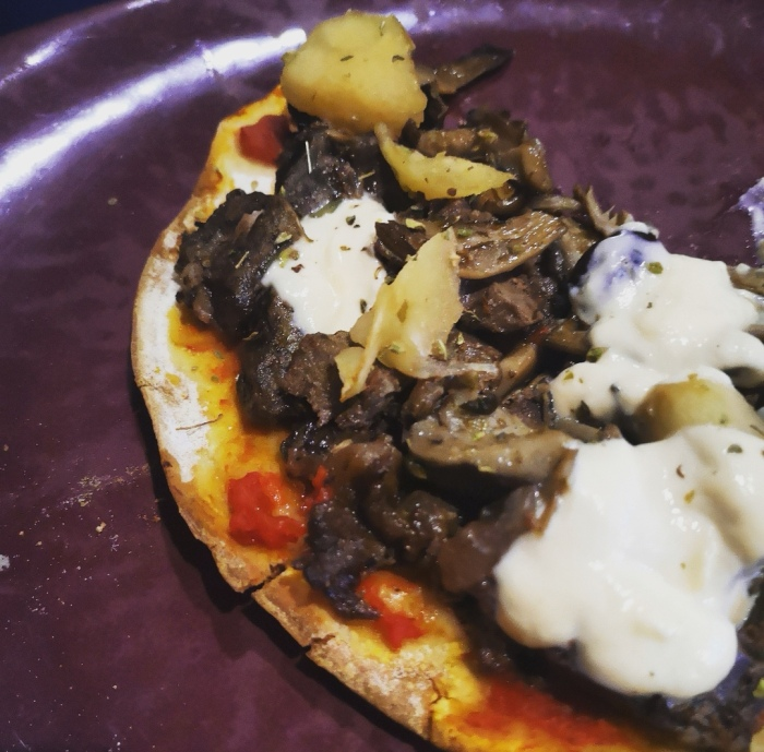 Pizza cazador