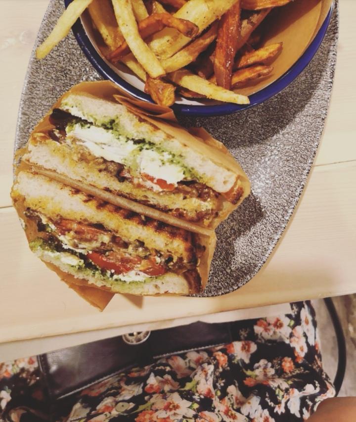 Sándwich veggie
