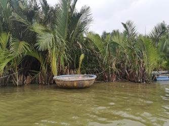 Bote de pescadores de Hoi An