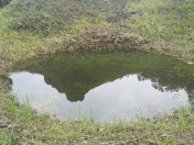 Cráter de B-52 en My Son2