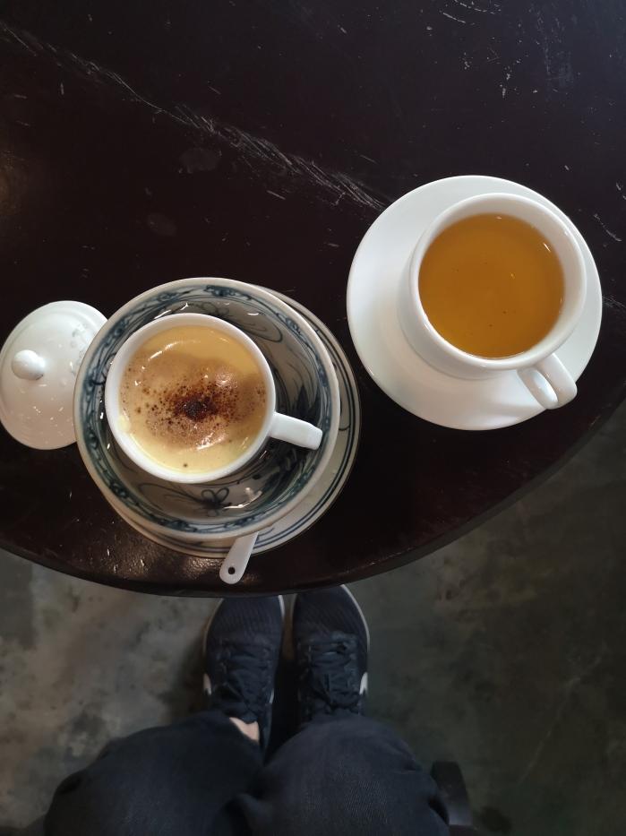 Egg Coffee en Pasion Fruit Coffee