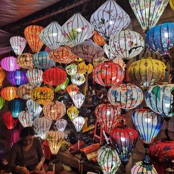 Farolillos del mercado nocturno de Hoi An2