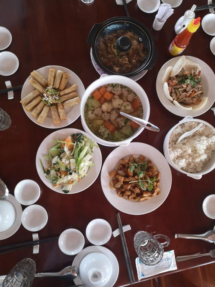 Menú vietnamita