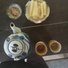 Tapioca y té
