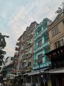 Edificios coloniales de Hué