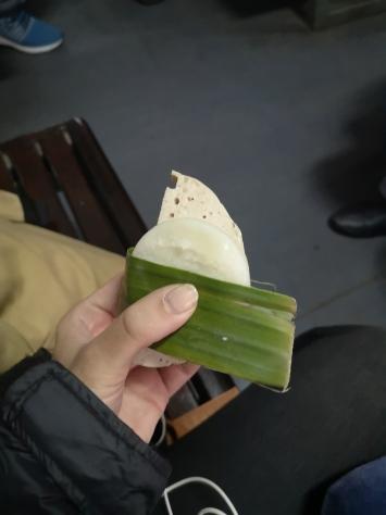 Comida del tren