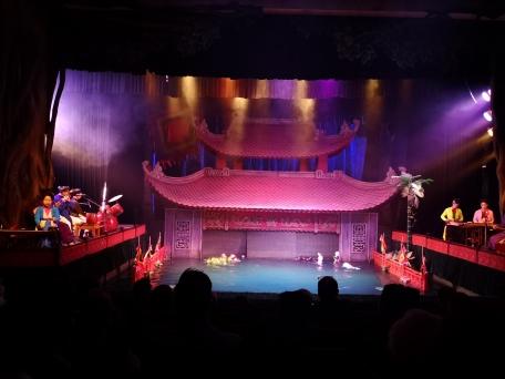 Teatro de marionetas de agua